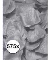 Goedkope luxe zilveren rozenblaadjes stuks 10079366