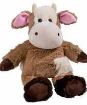 Goedkope magnetron warmte knuffel koe