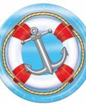 Goedkope marine thema wegwerp bordjes st