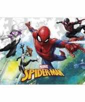 Goedkope marvel spiderman themafeest tafelkleed tafelzeil