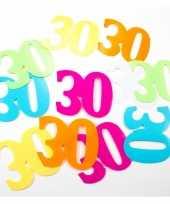 Goedkope mega confetti jaar leeftijd versiering stuks 10135023
