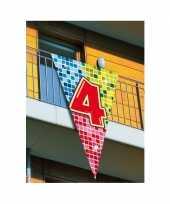Goedkope mega decoratie vlag jaar 10045748