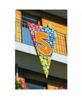 Goedkope mega decoratie vlag jaar 10045749