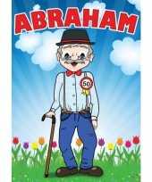 Goedkope mega poster abraham