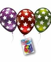 Goedkope metallic ballonnen sterren