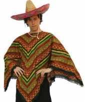 Goedkope mexicaanse poncho