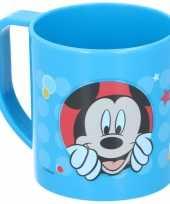 Goedkope mickey mouse mok blauw
