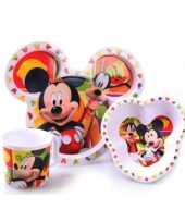 Goedkope mickey mouse ontbijtset