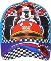 Goedkope mickey mouse pet cap blauw kinderen