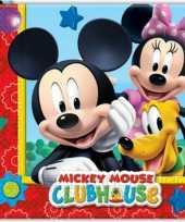 Goedkope mickey mouse servetten stuks