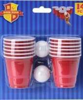 Goedkope mini bier pong spel