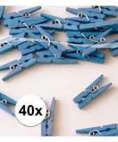 Goedkope mini knijpers blauw