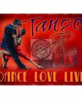 Goedkope mini muurplaatje tango love xcm