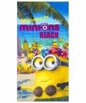Goedkope minions beach badlaken