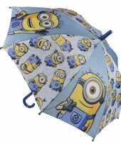 Goedkope minions paraplu blauw