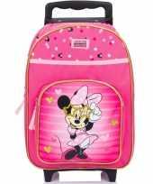 Goedkope minnie mouse handbagage reiskoffer trolley kinderen