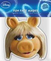 Goedkope miss piggy masker