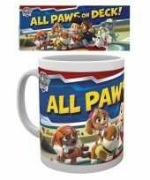 Goedkope mok paw patrol all paws on deck