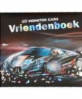 Goedkope monster cars vriendenboekje zwarte auto