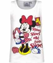 Goedkope mouwloos minnie mouse t shirt wit