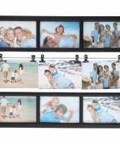 Goedkope multi zwarte fotolijst fotos
