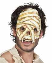 Goedkope mummie masker volwassenen