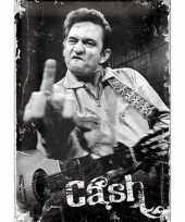 Goedkope muurplaat johnny cash