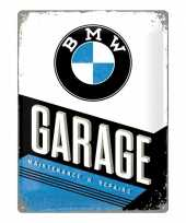 Goedkope muurplaatje bmw garage