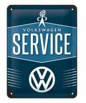 Goedkope muurplaatje volkswagen service
