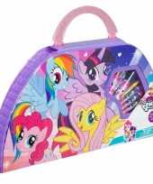 Goedkope my little pony kleurkoffer