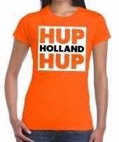 Goedkope nederlands elftal supporter shirt hup holland hup oranje da 10151375