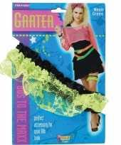 Goedkope neon groene kousenband