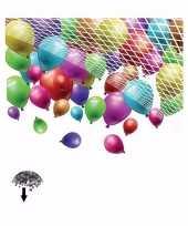 Goedkope net om ballonnen laten vallen stuks 10086260