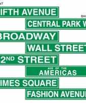 Goedkope new york straatbord decoratie
