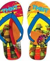 Goedkope ninja turtles teenslippers rood oranje blauw kinderen