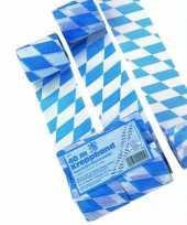 Goedkope oktoberfest bayern crepe papier slinger meter