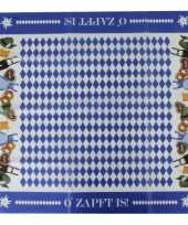 Goedkope oktoberfest beieren tafelkleed 10061679