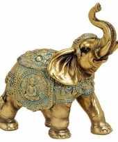 Goedkope olifant dieren beeldje goud woondecoratie 10139969