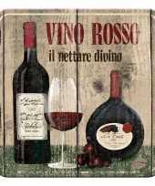 Goedkope onderzetter rode wijn