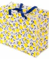 Goedkope opbergtas dekentas citroen goedkope