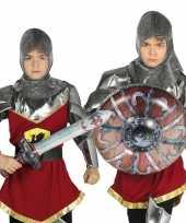 Goedkope opblaasbaar ridder zwaard schild kinderen