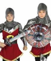 Goedkope opblaasbaar ridder zwaard schild volwassenen