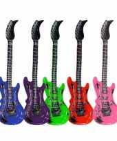 Goedkope opblaasbare rode elektrische gitaar 10050115
