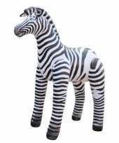 Goedkope opblaasbare zebra