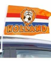 Goedkope oranje holland autovlag