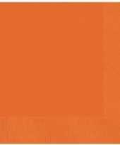 Goedkope oranje servetten stuks 10106434