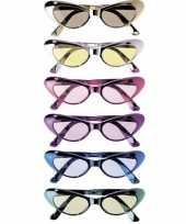 Goedkope ovale glimmende brillen