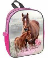 Goedkope paard veulen rugzak rugtas roze meisjes