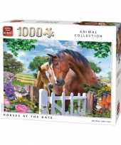 Goedkope paarden puzzel stukjes