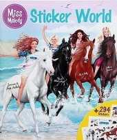 Goedkope paarden sticker kleurboek miss melody 10129630